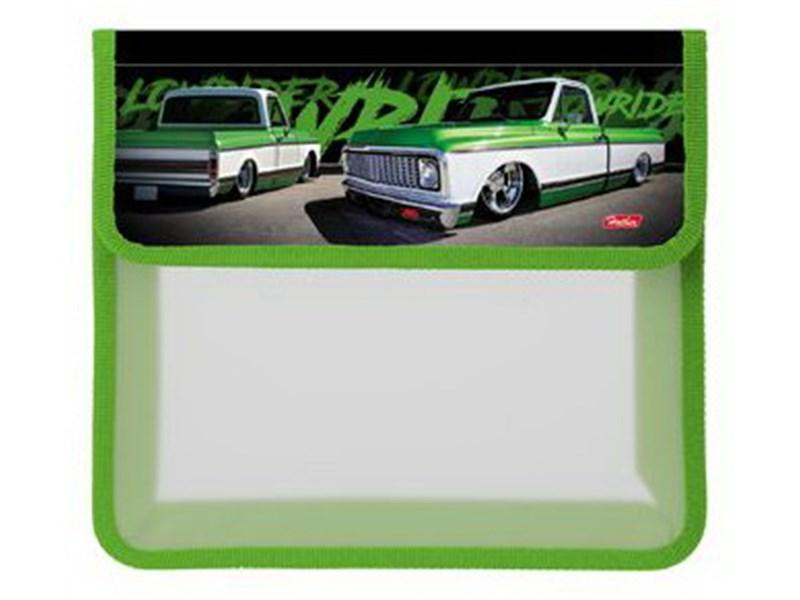 Папка для тетрадей пластиковая Hatber Low Ride А5