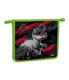 Папка для тетрадей пластиковая Hatber Мир динозавров А5