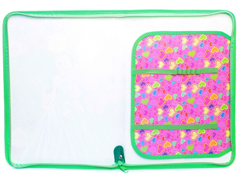 Папка для труда Принцесса в цветах, А4