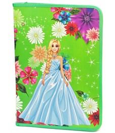 Фото 1. Папка для труда Принцесса в цветах, А4