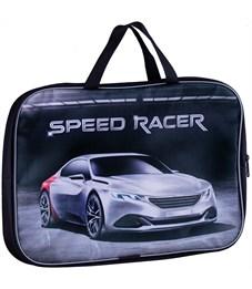 """Папка с ручками А4 ArtSpace """"Speed racer"""", полиэстер, 70мм"""
