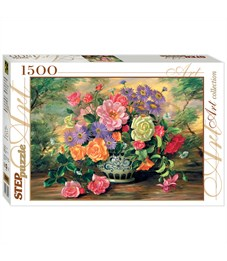 "Пазл 1500 эл. Step Puzzle ""Art Collection. Цветы в вазе"""
