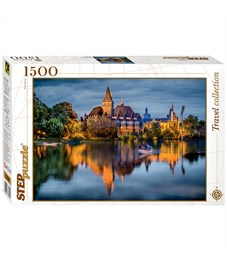 "Пазл 1500 эл. Step Puzzle ""Travel Collection. Замок у озера"""