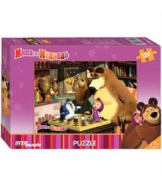 "Пазл  120 эл. Step Puzzle ""Маша и Медведь"""