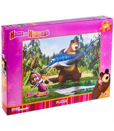 "Пазл  160 эл. Step Puzzle ""Маша и Медведь"""