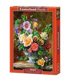 """Пазл  500 эл. Castorlаnd """"Цветы в вазе"""""""
