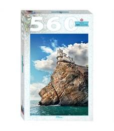 "Пазл  560 эл. Step Puzzle ""Travel Collection. Ласточкино гнездо"""