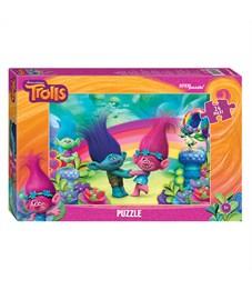 "Пазл   24 эл. maxi Step Puzzle ""DreamWorks. Trolls"""