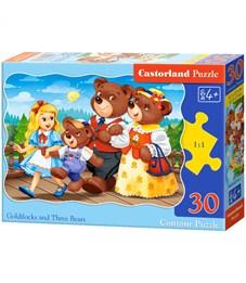 "Пазл   30 эл. Castorlаnd ""Златовласка и Три медведя"""