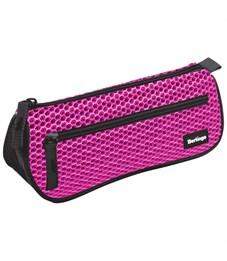 """Пенал-косметичка 200*80*55 Berlingo """"Style"""", розовый полиэстер"""