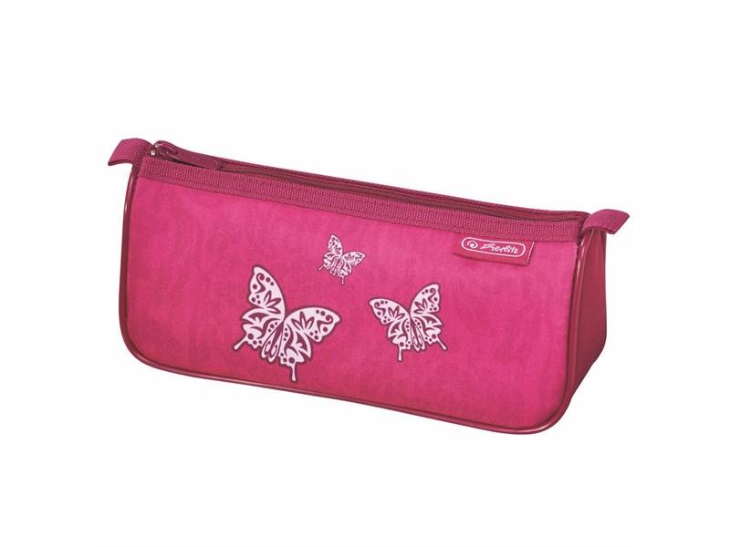Пенал-косметичка Herlitz Sport Girls mix II Rose Butterfly