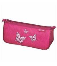 Фото 1. Пенал-косметичка Herlitz Sport Girls mix II Rose Butterfly