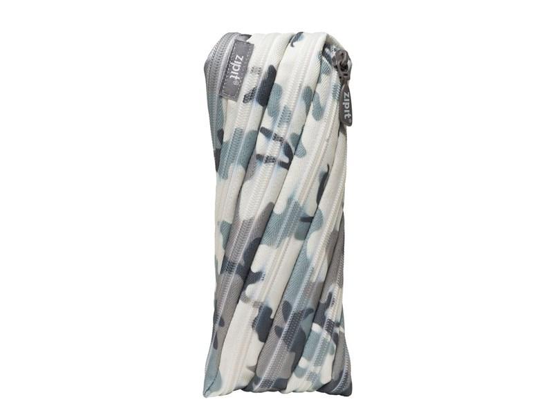 Пенал-сумочка школьный Zipit Camo Pouch cерый камуфляж