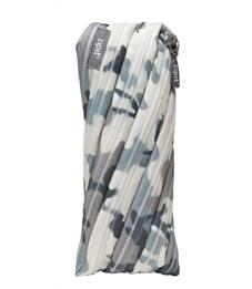 Фото 1. Пенал-сумочка школьный Zipit Camo Pouch cерый камуфляж