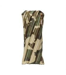 Пенал-сумочка школьный Zipit Camo Pouch хаки камуфляж