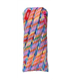 Пенал-сумочка школьный Zipit Colors Pouch мульти полоски