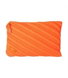 Пенал-сумочка школьный Zipit Neon Jumbo Pouch оранжевый