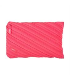 Пенал-сумочка школьный Zipit Neon Jumbo Pouch розовый