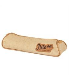Пенал-тубус на молнии JUTE, размер: 21.5 x 7.5 x 4.5 cm без наполнения, 1 отделение, джут