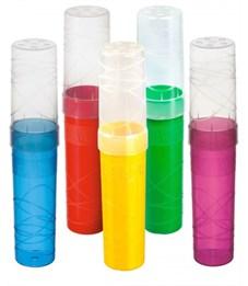 Пенал-тубус пластиковый Стамм цвета в ассортименте