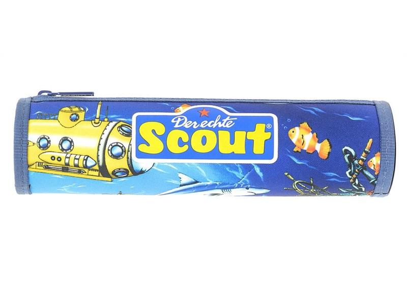 Пенал-тубус школьный Scout Акула