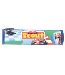 Пенал-тубус школьный Scout Скорость