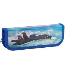 """Фото 1. Пенал 1 отделение, 190*65 ArtSpace """"Военные самолеты"""", ламинированный картон"""