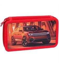 """Пенал 2 отделения, 190*110 ArtSpace """"Red car"""", ткань"""