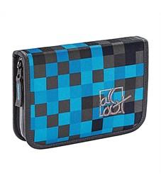 Пенал школьный All Out 138558 Blue Pixel