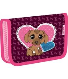 Пенал школьный Belmil 335-72 Anna Pet, Puppy