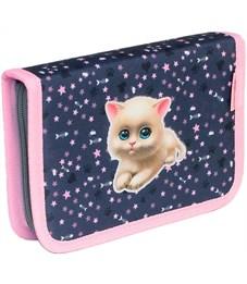 Пенал школьный Belmil 335-72 I Love Cats