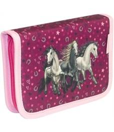 Пенал школьный Belmil 335-72 I Love Horse