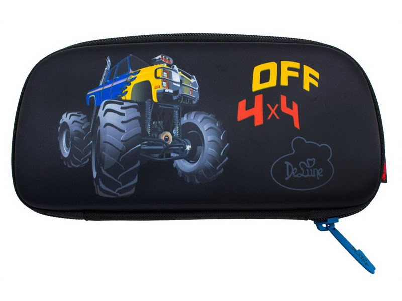 Пенал школьный DeLune D-807 Monster Truck