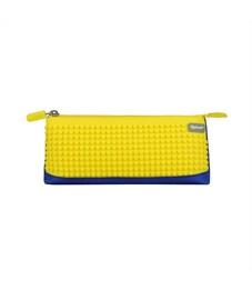 Пенал школьный пиксельный Upixel Bright Colors Pencil Case WY-B002-a Синий с банановым желтым