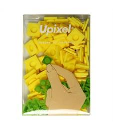 Пиксельные фишки большие WY-P001 однотонные Банановый желтый, 80 шт.
