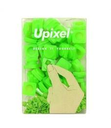 Пиксельные фишки маленькие WY-P002 однотонные Травяной зеленый, 80 шт.