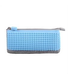 Пиксельный пенал Pencil Case WY-B002 Голубой