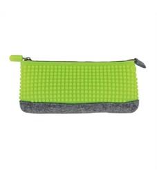 Пиксельный пенал Pencil Case WY-B002 Зеленое яблоко