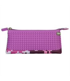 Пиксельный пенал в ярких красках WY-B002-a Фиолетовый хаки