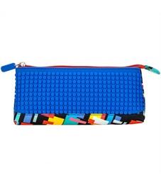 Пиксельный пенал в ярких красках WY-B002-a Синий