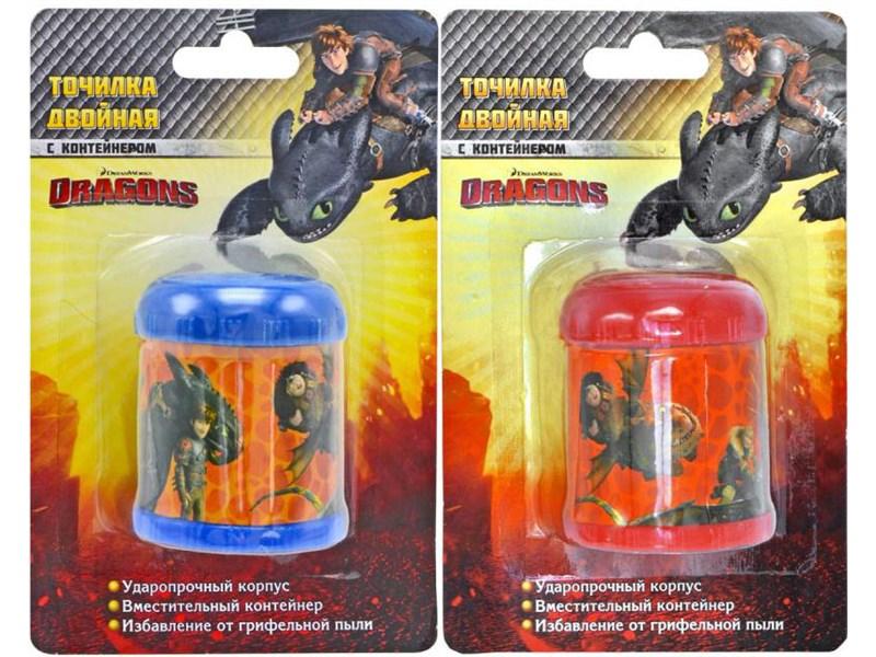 Пластиковая точилка с контейнером Action Animal Planet