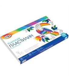 "Пластилин Гамма ""Классический"", 18 цветов, 360г, со стеком, картон"