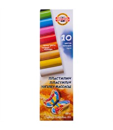 "Пластилин Koh-I-Noor ""Детский"", 10 цветов, 200г, картон"