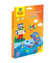 """Пластилиновая мозаика Мульти-Пульти """"Морские друзья"""", картон, европодвес"""