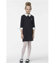 Платье для девочки Смена 3Д045 синее