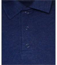 Фото 3. Поло синий с длинным рукавом 329-БДР-01