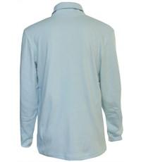 Фото 2. Поло Снег серо-голубое длинный рукав  914-БИ