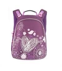 RA-543-4 Рюкзак школьный Grizzly темно-фиолетовый