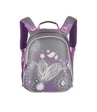 RA-543-4 Рюкзак школьный Grizzly серый