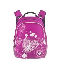 RA-543-4 Рюкзак школьный Grizzly розовый
